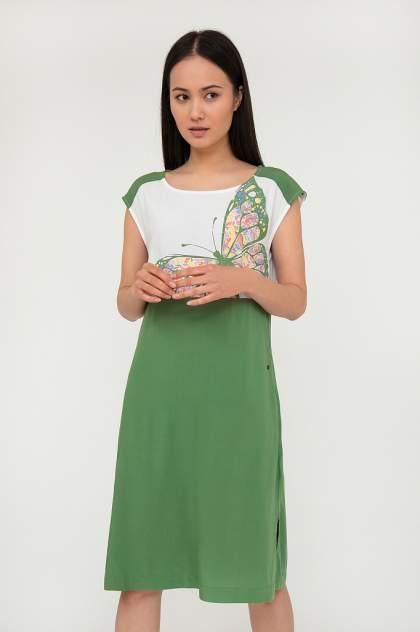 Женское платье Finn Flare S20-12033, разноцветный