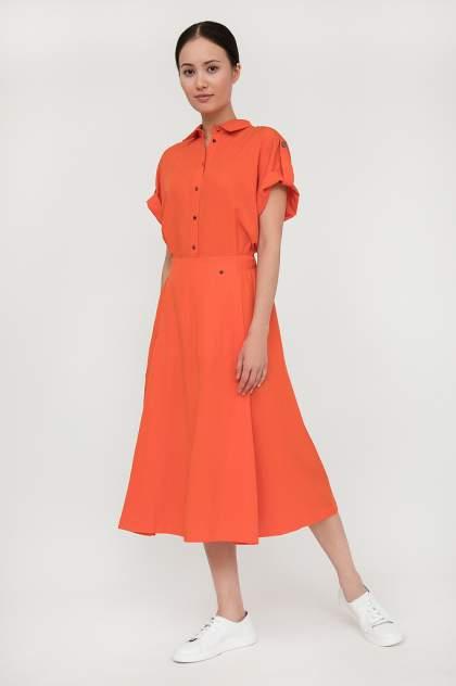 Платье женское Finn-Flare S20-12015 красное M