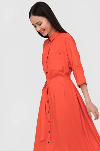 Платье женское Finn-Flare S20-120107 красное L