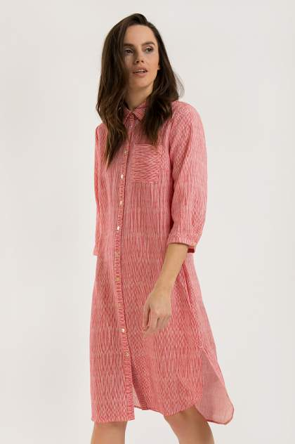 Платье женское Finn-Flare S20-14043 красное XL