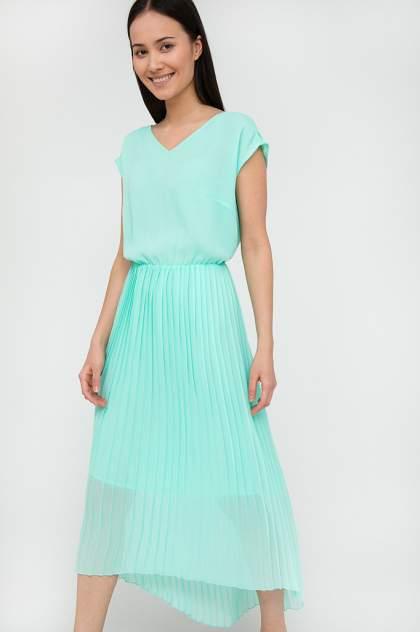 Женское платье Finn Flare S20-110134, зеленый