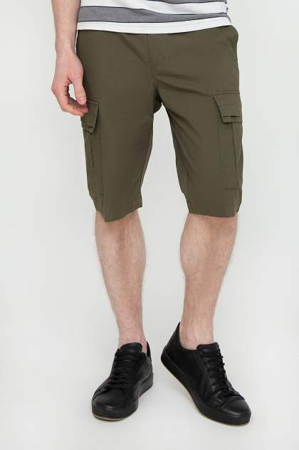 Шорты мужские Finn-Flare S20-24007 зеленые L