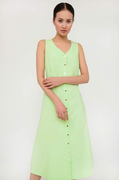Платье женское Finn-Flare S20-14002 зеленое L