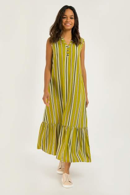 Женское платье Finn Flare S20-32093, зеленый