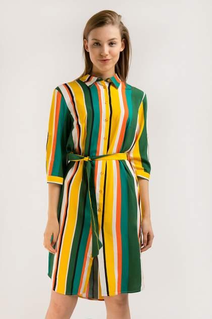 Платье женское Finn-Flare S20-32007 желтое L