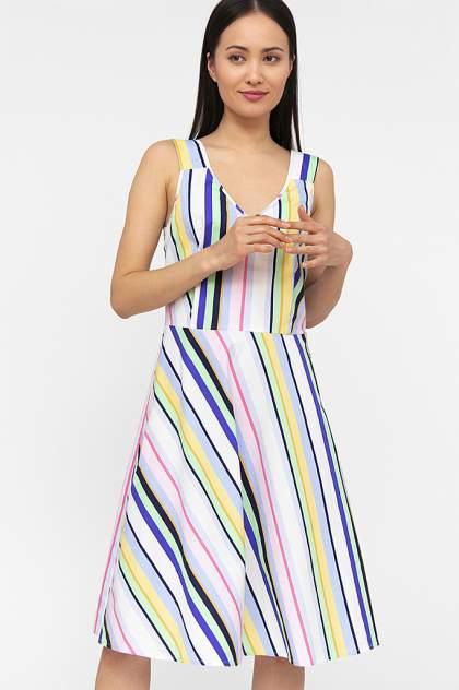 Женское платье Finn Flare S20-14007, голубой
