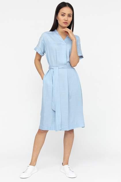 Женское платье Finn Flare S20-14061, голубой