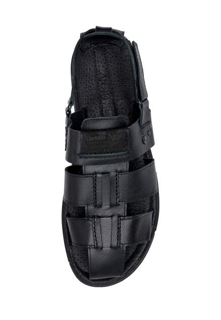 Сандалии мужские Alessio Nesca KR-856-201 черные 43 RU