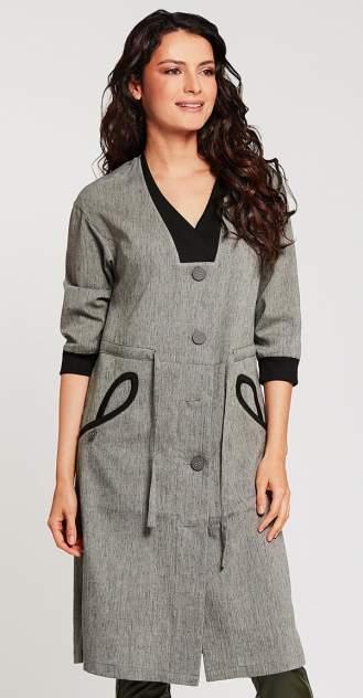 Тренч женский D`imma fashion studio Эркола серый 50 RU