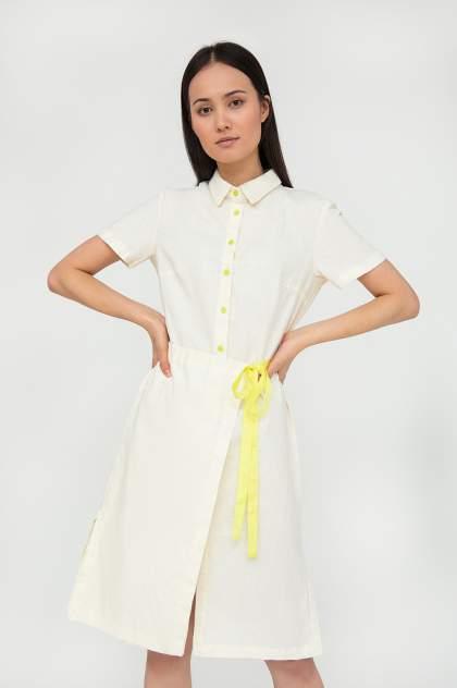 Женское платье Finn Flare S20-32041, бежевый