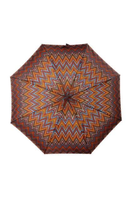 Зонт складной женский автоматический ZEST 24757-136 коричневый