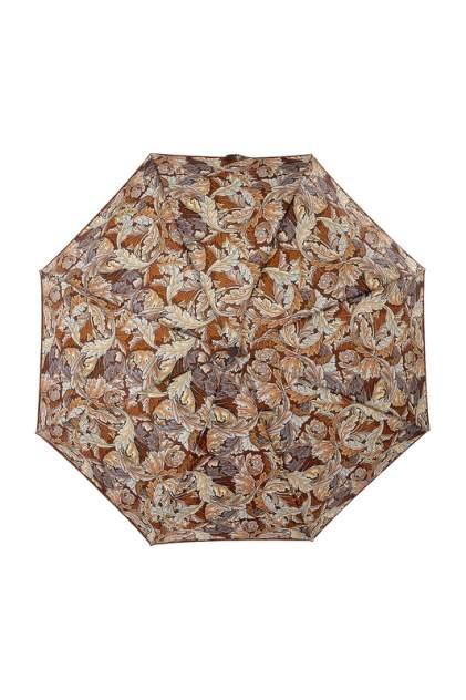 Зонт складной женский автоматический ZEST 24757-092 коричневый/бежевый