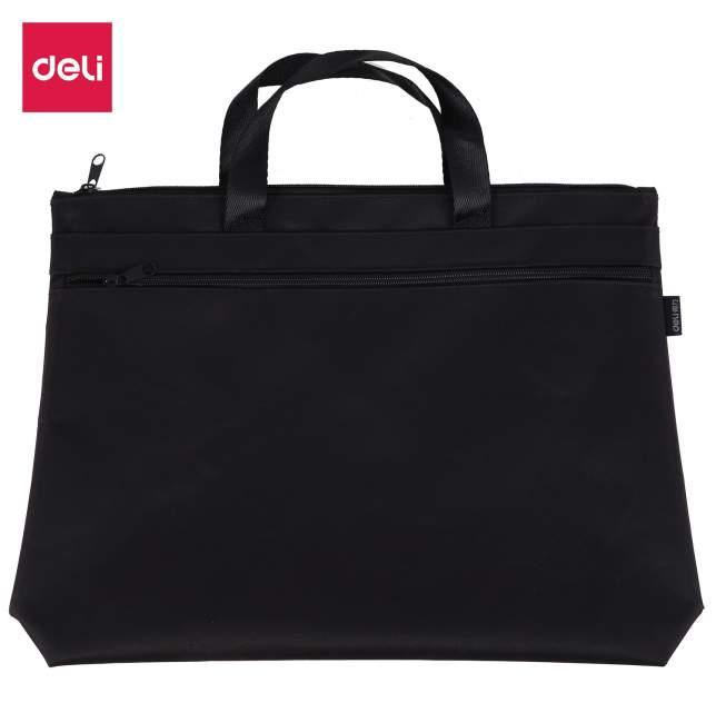 Папка-портфель Deli Extend EB55222 черный