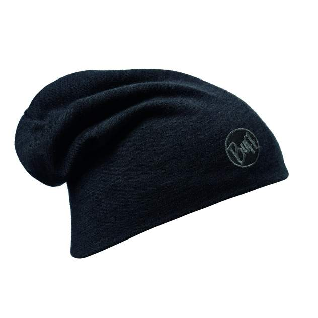 Шапка Buff Thermal Heavyweight Merino Wool Hat, solid black