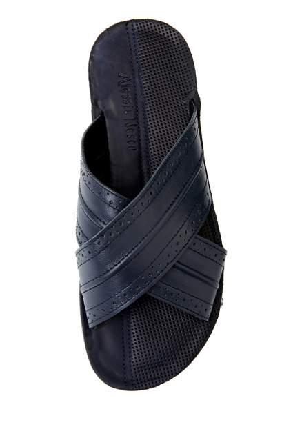 Шлепанцы мужские Alessio Nesca 03106060 синие 40 RU