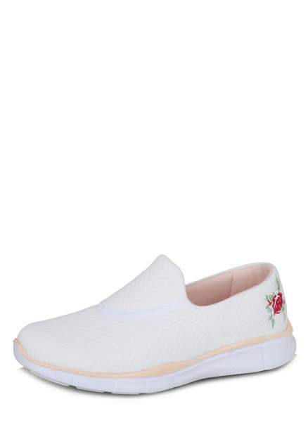 Слипоны женские G19 sport non stop K1705-62A белые 37 RU