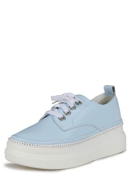Кеды женские Alessio Nesca K0611LC-1A голубые 37 RU