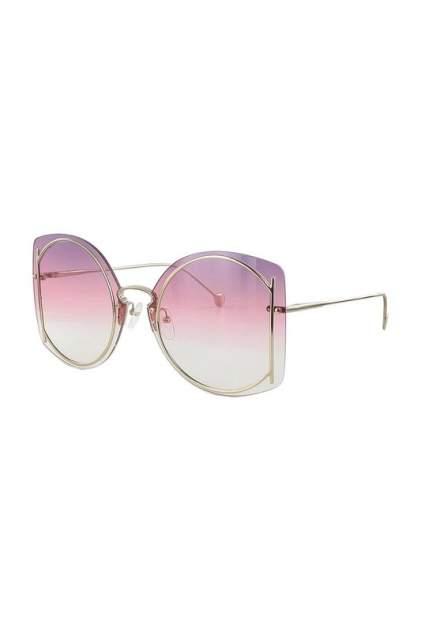 Солнцезащитные очки женские Salvatore Ferragamo 196S-705 золотистые