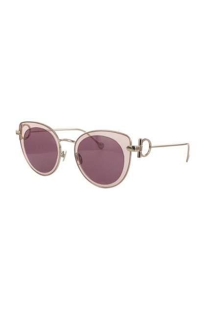 Солнцезащитные очки женские Salvatore Ferragamo 182S-640 золотистые