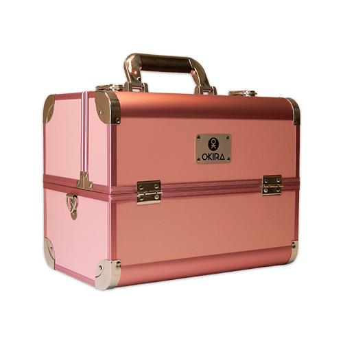 Бьюти-кейс для косметики женский OKIRO CWB 6350 розовый
