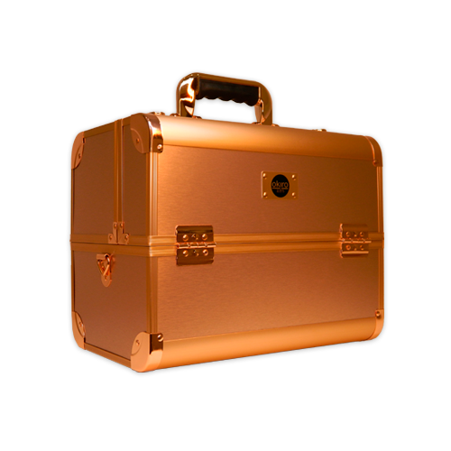 Бьюти-кейс для косметики Okira CWB 6350 розовое золото