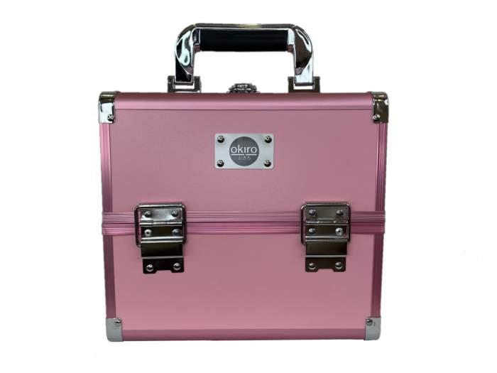 Бьюти-кейс для косметики женский Okira CWB 5350 розовый
