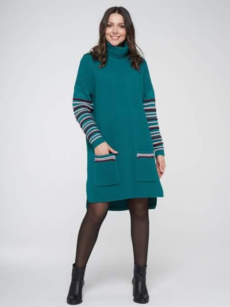 Женское платье VAY 202-2439, зеленый