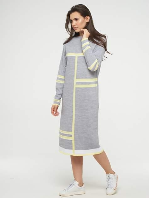 Женское платье VAY 192-2420, серый