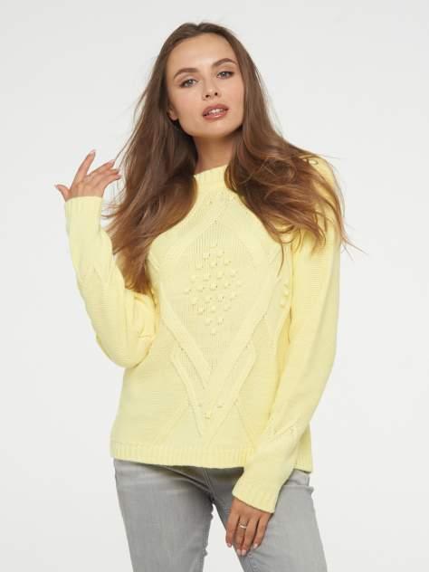 Джемпер женский BE YOU BY192-40041, желтый