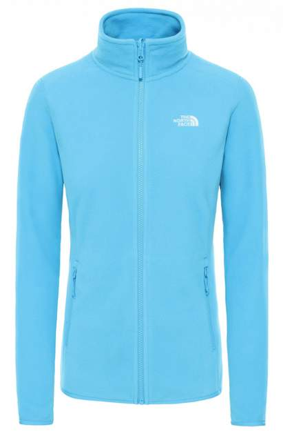Толстовка The North Face 100 Glacier Full Zip, ethereal blue, L