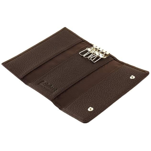 Ключница с карабинами Schubert l010-500 коричневая