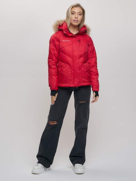 Спортивная куртка VALIANLY 21107, красный