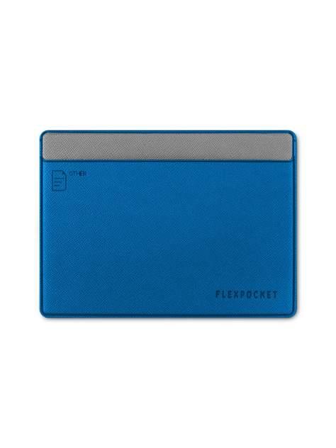 Обложка для автодокументов Flexpocket KOD-02 голубая