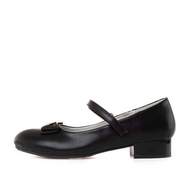 Туфли для девочек ZENDEN, цв. черный, р-р 36