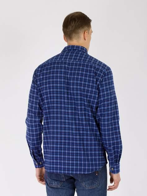Рубашка мужская DAIROS GD81100416 синяя 5XL