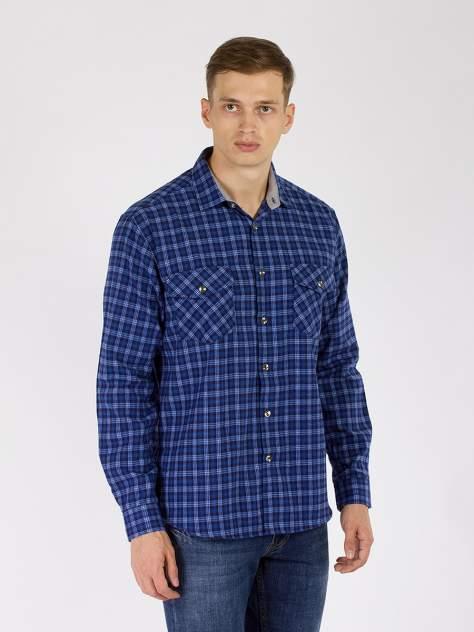 Рубашка мужская DAIROS GD81100416, синий