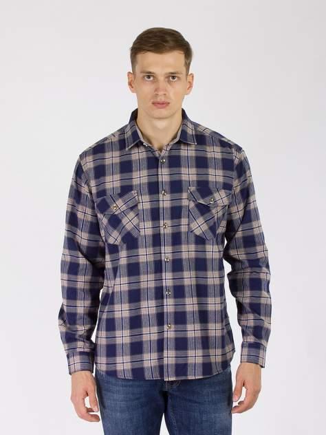 Рубашка мужская DAIROS GD81100414, синий