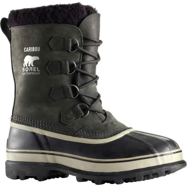 Ботинки Sorel Caribou Black/Dark Stone (Us:11)