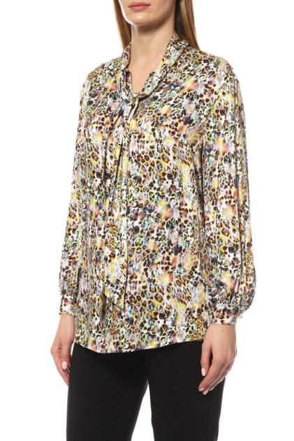 Блуза женская MadamLarimari ХИЩНИК желтая 56 RU