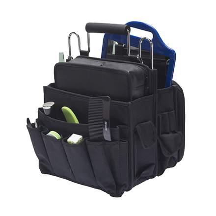 Бьюти-кейс для парикмахерских инструментов унисекс Dewal GS-175 черный