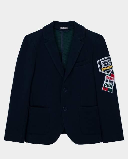Синий пиджак Gulliver размер 164 22011BJC1901