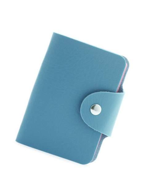 Визитница унисекс Markethot 00104144 голубая