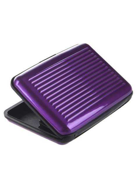 Кредитница мужской Markethot Alluma Wallet фиолетовый