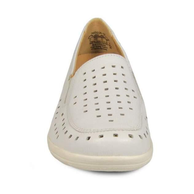 Мокасины женские Caprice 9-24550-102 белые 40 RU