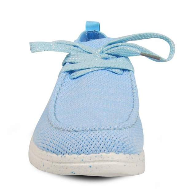Мокасины женские SPUR 058-01 голубые 41 RU