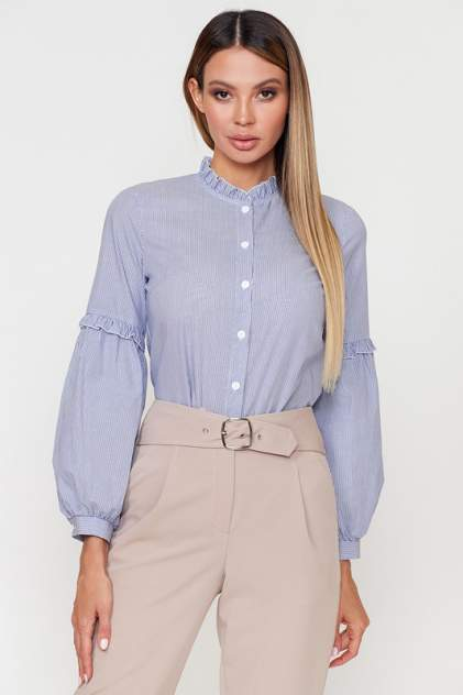 Блуза женская Vittoria Vicci 1806-6370 синяя 50 RU