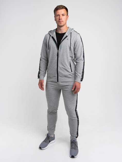 Спортивные брюки Великоросс B343, серые меланж, 54 RU
