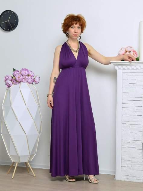 Вечернее платье женское Aleksandria Трансформер фиолетовое 48-50