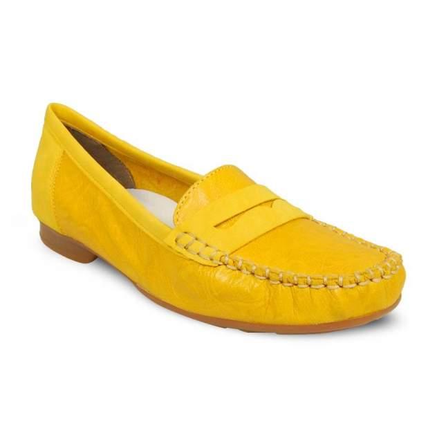 Мокасины женские Rieker 40054-68 желтые 37 RU