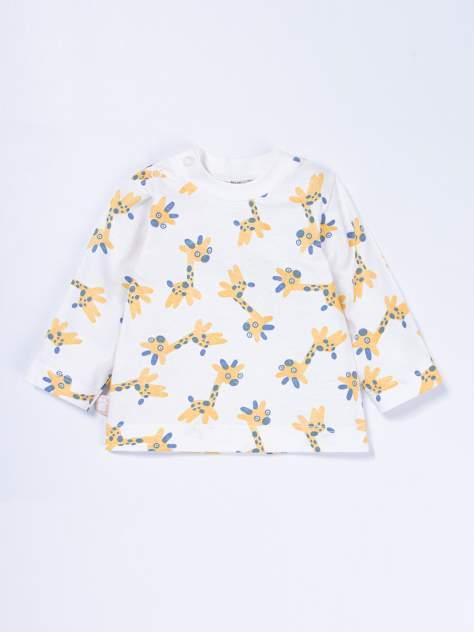 Джемпер детский КотМарКот, цв.белый, желтый